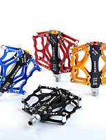 Carbon Fiber Titanium Bicycle MTB Road Bike Pedals Sealed Antiskid Pedal