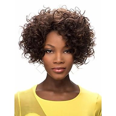 synthetische perücken locken afro locken afro-frisur