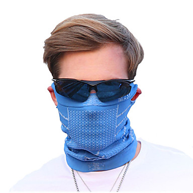 Pollution Protection Mask Men's Cycling / Bike Bike / Cycling Sunscreen Breathable Quick Dry Winter Solid Color Terylene Purple Blue Pink / Stretchy / Mountain Bike MTB / Road Bike Cycling
