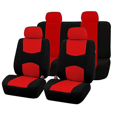 Asiento de coche referencias universal toyota rojo kit completo automóviles fundas para asientos