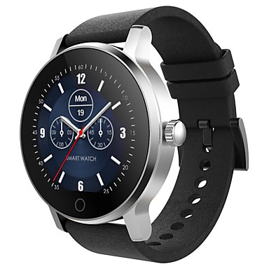 SMA 09A Smartwatch Android iOS Bluetooth Heart Rate Monitor Touch Screen Long Standby Hands-Free Calls Pedometer Call Reminder Activity Tracker Sleep Tracker Alarm Clock / Community Share / 72-100