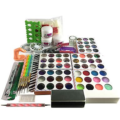 28 pcs nail kits universal basic daily acrylic kit for