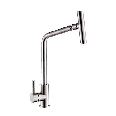Kitchen Faucet Bathroom Sink Faucet Single Handle One Hole Stainless Steel Standard Spout Contemporary Kitchen Taps 7103172 2020 78 74