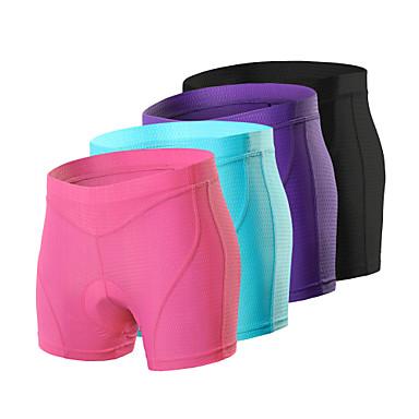 Arsuxeo Women's Cycling Under Shorts Cycling Padded Shorts Bike Underwear Shorts Padded Shorts / Chamois Bottoms Sports Spandex Purple / Fuchsia / Blue Mountain Bike MTB Road Bike Cycling Clothing