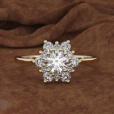 Acero inoxidable anillo diseño acero inoxidable anillo de Cóctel cubic zirconia blanca con plata ME 362