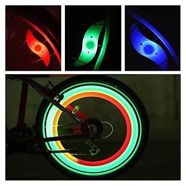 Utility Fluorescent Bike Bicycle Wheel Tyre Rim Reflective Stickers Tape J JE