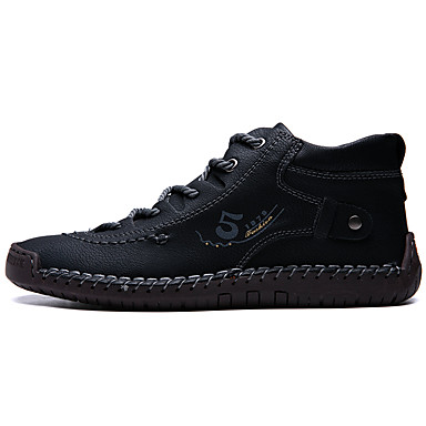 men's sneakers leather shoes business casual daily walking