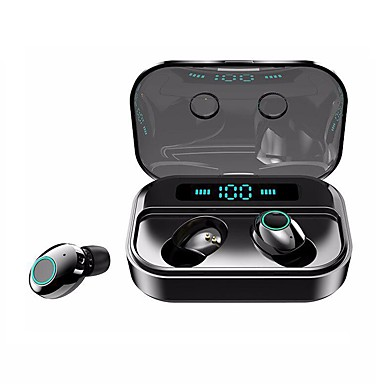 Litbest M7 Tws True Wireless Earbuds Ipx7 Waterproof Sports Fitness Headphone Bluetooth 5 0 Stereo Dual Drivers Touch Control Real 2200mah Mobile Power Led Battery Display For Smartphones 7730039 2020 20 99