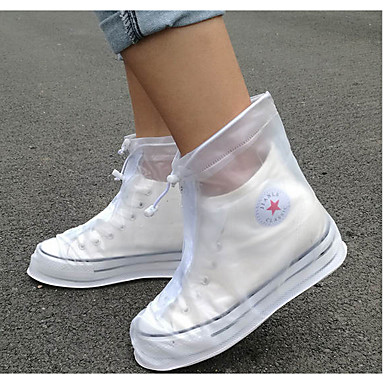 PVC(PolyVinyl Chloride) Shoe Cover Unisex Sports & Outdoor Black / White / Blue