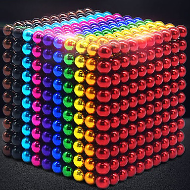 216-1000 pcs 3mm Magnet Toy Magnetic Balls Building Blocks Super Strong Rare-Earth Magnets Neodymium Magnet Neodymium Magnet Contemporary Classic & Timeless Chic & Modern Stress and Anxiety Relief