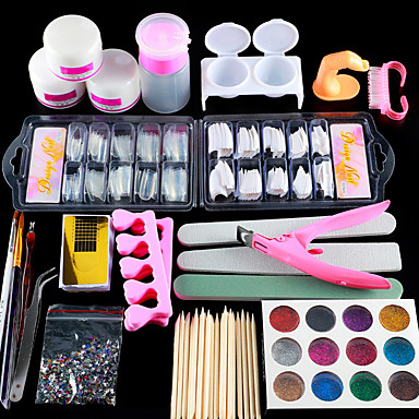 nail designs 2020 acrylic nail art kit manicure set 12
