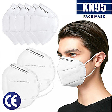 20 pcs KN95 CE Approved Face Mask Respirator Protection In Stock CE Certified Certification White