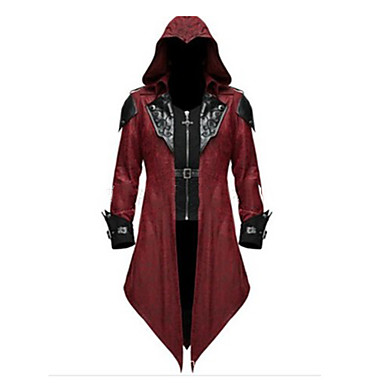 Inspired by Assassin Alexios Video Game Cosplay Costumes Cosplay Suits Vintage Coat Costumes