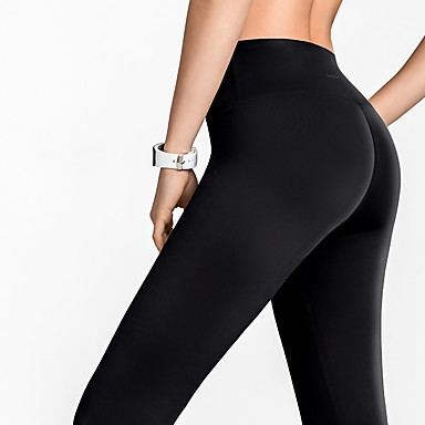 Soft Athletic Tummy Control Pants for Running Cycling Yoga Workout Hurrybuy High Waisted Leggings for Women
