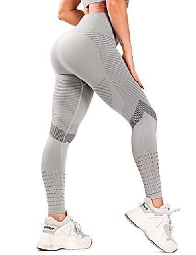 women's high waisted workout leggings seamless gym leggings butt lift yoga pants push up