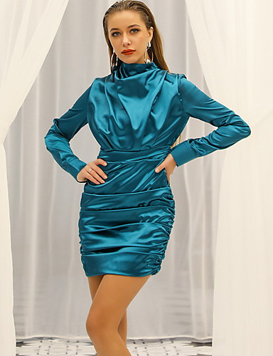 Eng anliegend Sexy Bodycon Party Wear Cocktailparty Kleid ...